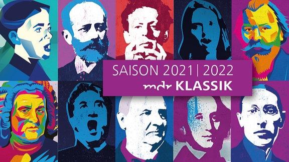 Banner Konzertsaison 2021/22