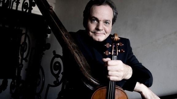 Christian Altenburger mit seiner Violine