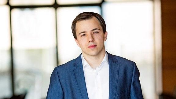 Dominik Beykirch im Porträt