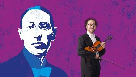 """Grafik zur Reihe """"Zauber der Musik"""" in Leipzig, MDR-Konzertsaison 2021/22"""