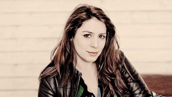 Porträt der Sängerin Elizabeth Watts