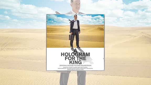 "Das Coverbild der CD mit dem Soundtrack zum Film ""A Hologram for the King"""