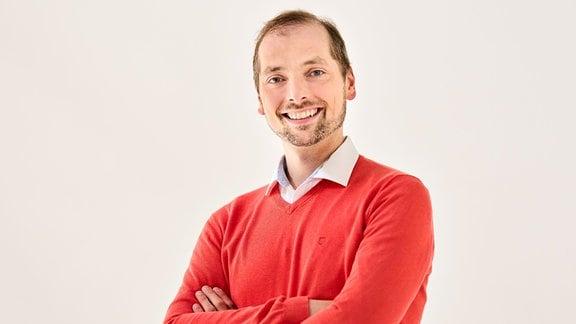 Porträt von Alexander Schmitt, Künstlerischer Leiter des MDR-Kinderchors
