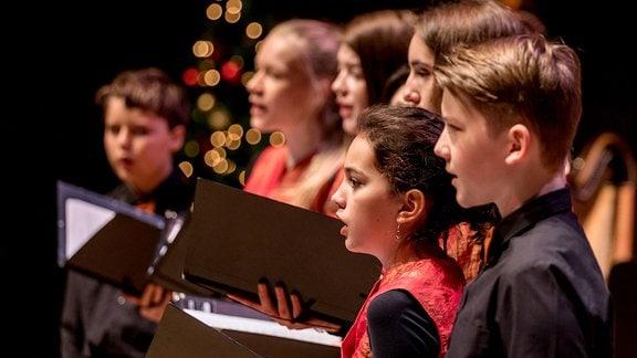 Der MDR-Kinderchor im Konzert