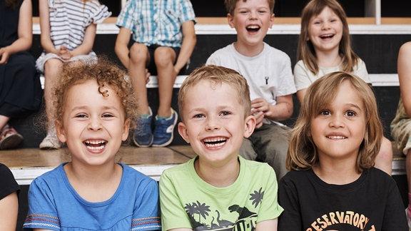 Kinder des Vorchors im MDR-Kinderchor bei der Probe.