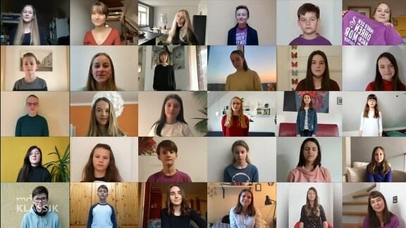 """MDR-Kinderchor Vorschaubild für das Video """"Zusammen sind wir stark"""""""