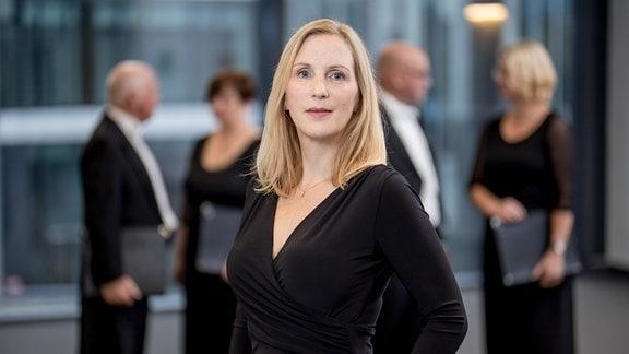 Friederike Stübner-Garbade, Sopranistin im MDR-Rundfunkchor