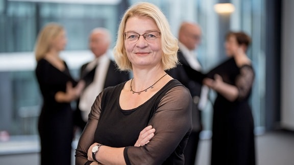 Gisela Burandt, Sopranistin im MDR-Rundfunkchor