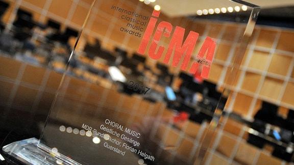 Der Klassik-Preis ICMA 2017 für den MDR-Rundfunkchor.