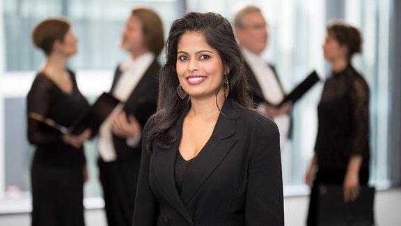Joanne D'Mello, Sopranistin im MDR-Rundfunkchor