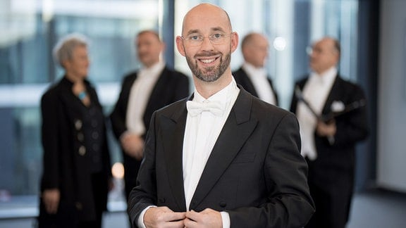 Thomas Oertel-Gormanns, Bass im MDR-Rundfunkchor