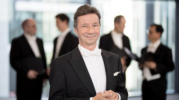 Wolfram Langner, Bass im MDR-Rundfunkchor