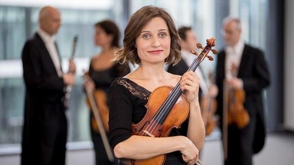 Alexandra Bartoi, Mitglied im MDR-Sinfonieorchester