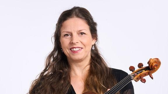 Anja Pottier, Mitglied im MDR-Sinfonieorchester