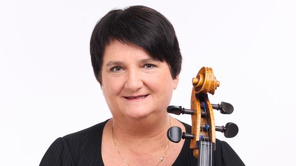 Anna Niebuhr, Mitglied im MDR-Sinfonieorchester