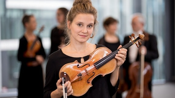 Annemarie Gäbler, Mitglied im MDR-Sinfonieorchester