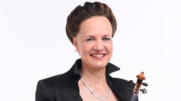 Annett Greiner, Mitglied im MDR-Sinfonieorchester
