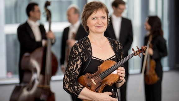 Barbara Hartmann, Mitglied im MDR-Sinfonieorchester