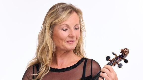 Barbara Ude, Mitglied im MDR-Sinfonieorchester
