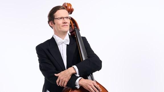 Carlo Queitsch, Mitglied im MDR-Sinfonieorchester