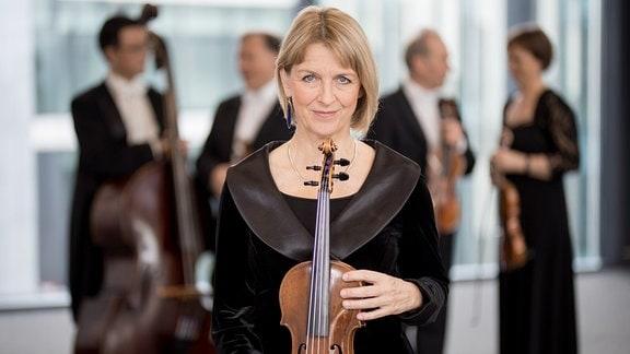 Christine Endres, Mitglied im MDR-Sinfonieorchester