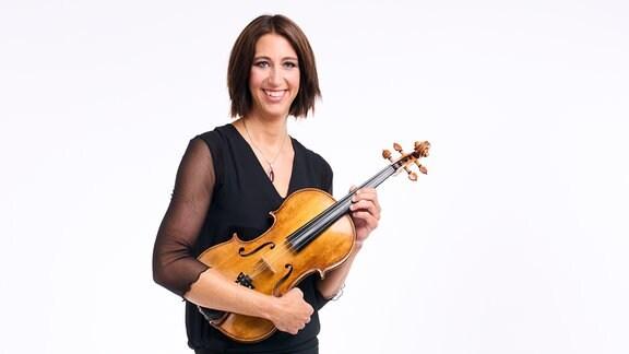 Dagmar Eschenburg, Mitglied im MDR-Sinfonieorchester