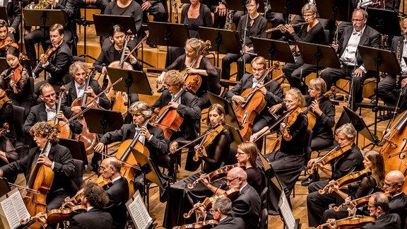 Das MDR-Sinfonieorchester im Konzert.