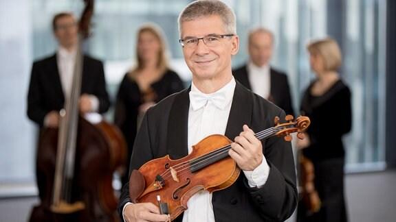 Hartmut Preuß, Mitglied im MDR-Sinfonieorchester
