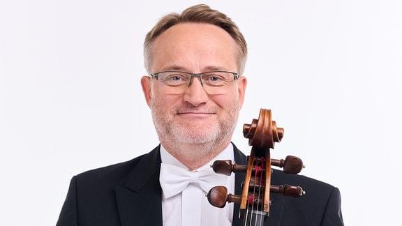 Johannes Weiss, Mitglied im MDR-Sinfonieorchester