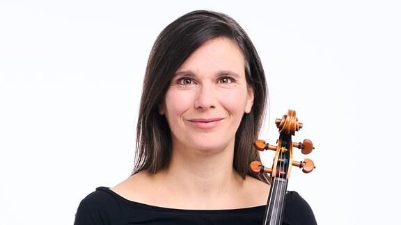 Kathrin Körber, Mitglied im MDR-Sinfonieorchester