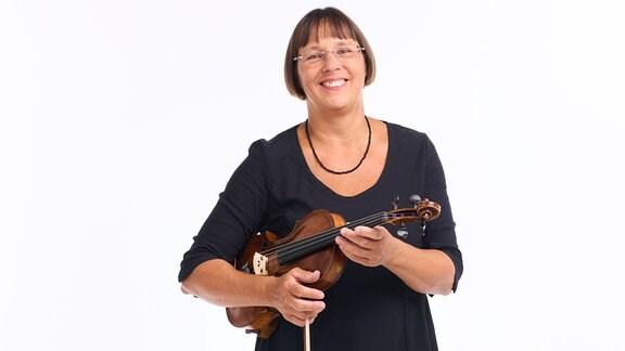 Katja Pfaender, Mitglied im MDR-Sinfonieorchester