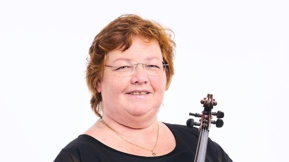 Kornelia Weiner, Mitglied im MDR-Sinfonieorchester