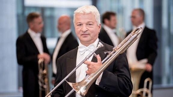 Lutz Grützmann, Posaune