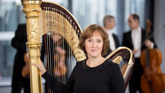Michaela Preuß, Harfe
