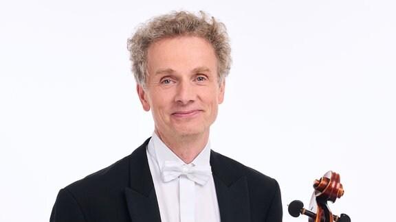 Stefan Wunnenburger, Mitglied im MDR-Sinfonieorchester