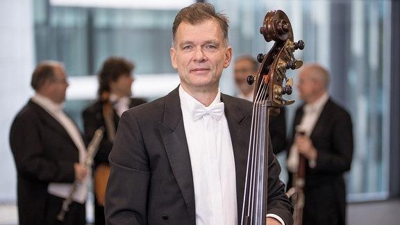 Thomas Schicke, Mitglied im MDR-Sinfonieorchester