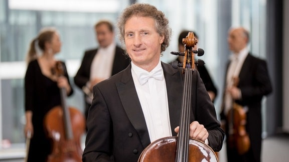 Wolfram Stephan, Mitglied im MDR-Sinfonieorchester