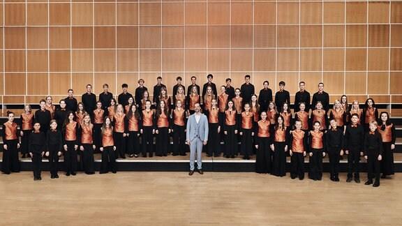 Kinder des Konzertchors des MDR-Kinderchors