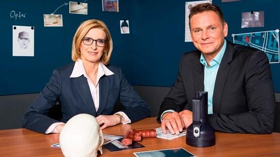 Birgit von Derschau und Axel Bulthaupt
