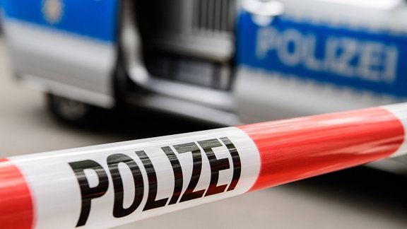 Polizei-Absperrband