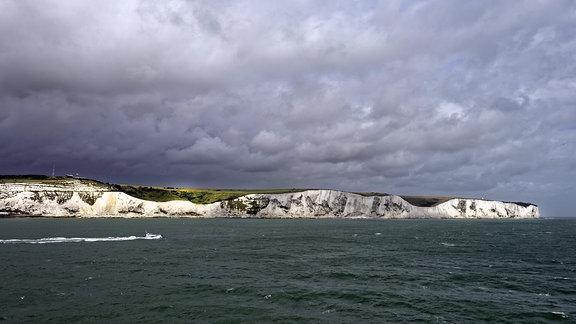 Der Ärmelkanal bei Dover