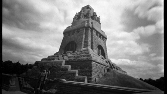 Völkerschlachtdenkmal, fotografiert von Sighard Gille