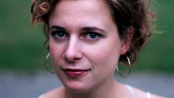 Charlotte Krämer, die 1. Violine im MDR-Sinfonieorchester