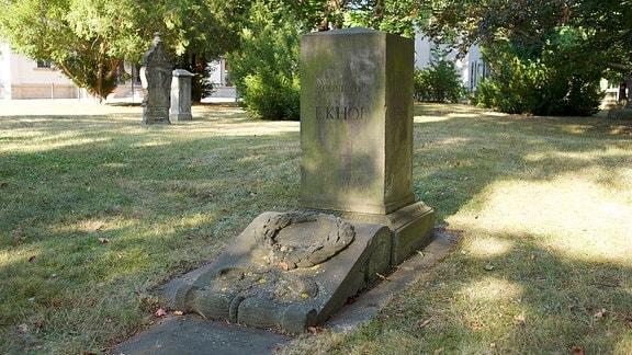 Grabstein von Conrad Ekhof.
