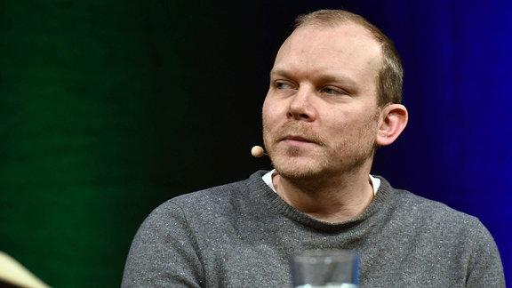 Der norwegische Autor Johan Harstad