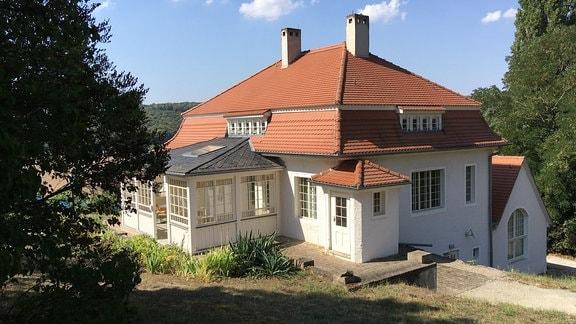 Max Klinger Haus in Großjena, Thüringen