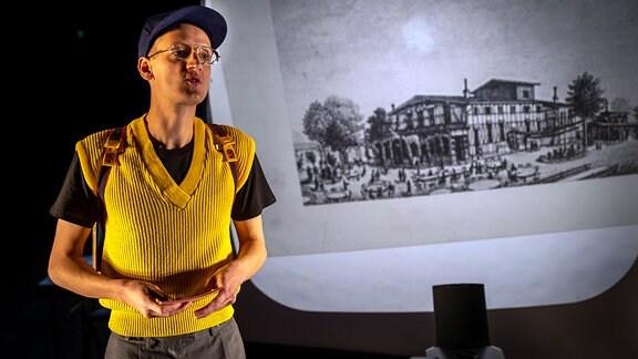 Theaterstück - Wo ist das Theater - am Theaterhaus Jena