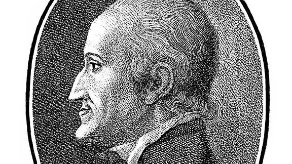 Historischer Druck, 1796, Portrait von Freiherr Adolph Franz Friedrich Ludwig Knigge, 1752 - 1796, ein deutscher Schriftsteller und Aufklärer