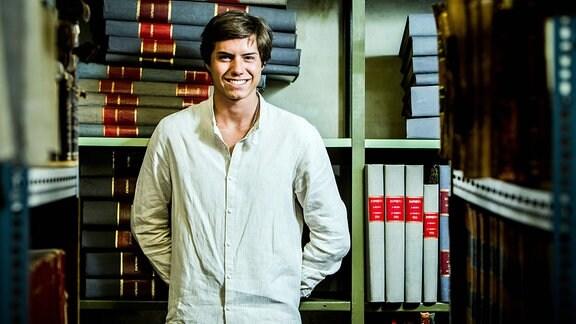 Der portugiesische Schriftseller Afonso Reis Cabral