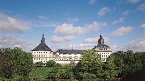 Schloss Friedenstein in Gotha, Südseite